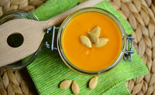 Moje kulinarne wędrówki – zupa dyniowa.