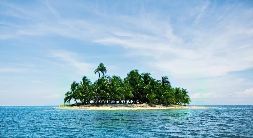 Największa zaleta bezludnej wyspy.