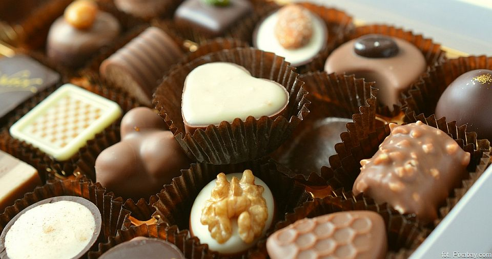 Słodko – kwaśne czekoladki